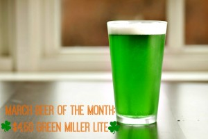greenbeer OF THE MONTH
